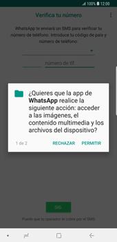 Configuración de Whatsapp - Samsung Galaxy S9 Plus - Passo 6