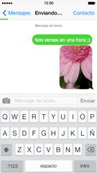Envía fotos, videos y audio por mensaje de texto - Apple iPhone 5s - Passo 13