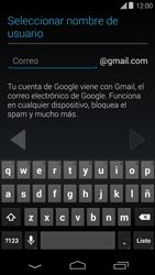 Crea una cuenta - Motorola Moto E (1st Gen) (Kitkat) - Passo 6
