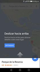 Uso de la navegación GPS - Huawei P10 - Passo 10