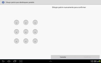 Desbloqueo del equipo por medio del patrón - Samsung Galaxy Note 10-1 - N8000 - Passo 10