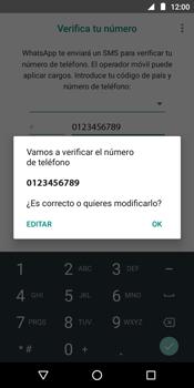 Configuración de Whatsapp - Motorola Moto E5 - Passo 9