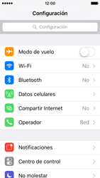 Desactiva tu conexión de datos - Apple iPhone SE - Passo 2