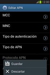 Configura el Internet - Samsung Galaxy Fame GT - S6810 - Passo 16