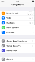 Configura el hotspot móvil - Apple iPhone 5c - Passo 3