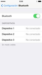 Conecta con otro dispositivo Bluetooth - Apple iPhone 5c - Passo 5
