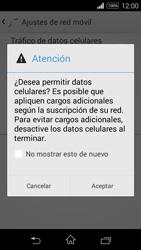 Desactiva tu conexión de datos - Sony Xperia E3 D2203 - Passo 5