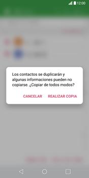 ¿Tu equipo puede copiar contactos a la SIM card? - LG G6 - Passo 12