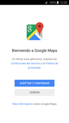 Uso de la navegación GPS - Samsung Galaxy S6 - G920 - Passo 4