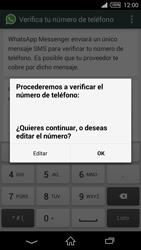 Configuración de Whatsapp - Sony Xperia Z2 D6503 - Passo 6