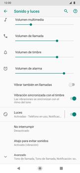 Configuración de tono de llamada - Motorola One Zoom - Passo 7