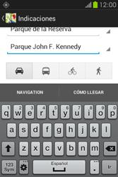 Uso de la navegación GPS - Samsung Galaxy Fame GT - S6810 - Passo 15