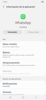 Desinstalar aplicaciones - Samsung Galaxy A30 - Passo 5