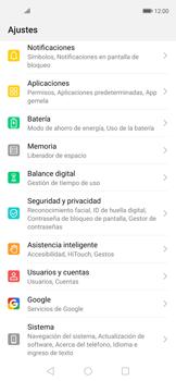Habilitar seguridad de huella digital - Huawei Nova 5T - Passo 2