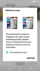 Transferir fotos vía Bluetooth - LG K10 2017 - Passo 5