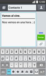 Envía fotos, videos y audio por mensaje de texto - LG L70 - Passo 12