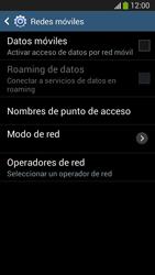 Desactiva tu conexión de datos - Samsung Galaxy S4 Mini - Passo 7