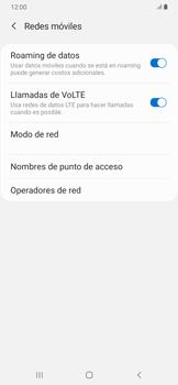 Activa o desactiva el roaming de datos - Samsung Galaxy A30 - Passo 6