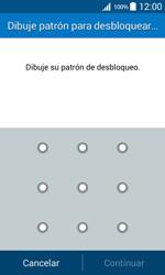 Desbloqueo del equipo por medio del patrón - Samsung Galaxy Core Prime - G360 - Passo 7