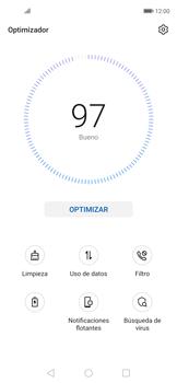 Cómo usar la función Optimizar - Huawei Nova 5T - Passo 3