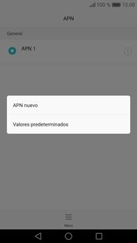 Configura el Internet - Huawei Mate 8 - Passo 8