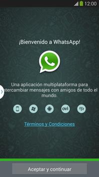 Configuración de Whatsapp - Samsung Galaxy Note Neo III - N7505 - Passo 4