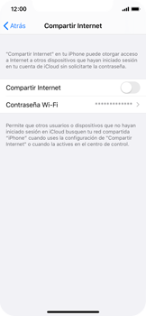 Configura el hotspot móvil - Apple iPhone 11 Pro - Passo 6