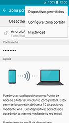 Configura el hotspot móvil - Samsung Galaxy J3 - J320 - Passo 7