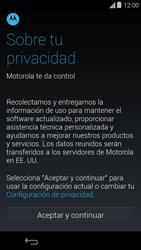 Activa el equipo - Motorola Moto E (1st Gen) (Kitkat) - Passo 6