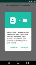 Configuración de Whatsapp - LG K10 2017 - Passo 9