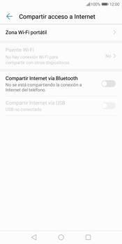 Configura el hotspot móvil - Huawei Y7 (2018) - Passo 5