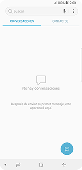 Envía fotos, videos y audio por mensaje de texto - Samsung Galaxy S9 - Passo 3