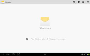 Envía fotos, videos y audio por mensaje de texto - Samsung Galaxy Note 10-1 - N8000 - Passo 3