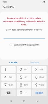 Habilitar seguridad de huella digital - Samsung Galaxy A30 - Passo 7
