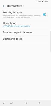 Configurar el equipo para navegar en modo de red LTE - Samsung Galaxy S9 Plus - Passo 7