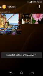 Transferir fotos vía Bluetooth - Sony Xperia E3 D2203 - Passo 15