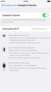 Configura el hotspot móvil - Apple iPhone 7 Plus - Passo 8