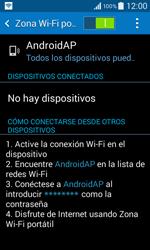 Configura el hotspot móvil - Samsung Galaxy Core 2 - G355 - Passo 11