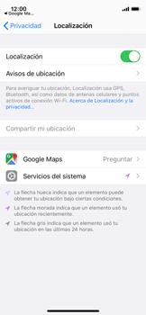 Uso de la navegación GPS - Apple iPhone 11 Pro - Passo 6