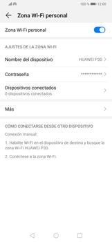 Configura el hotspot móvil - Huawei P30 - Passo 10