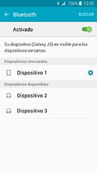 Conecta con otro dispositivo Bluetooth - Samsung Galaxy J3 - J320 - Passo 8