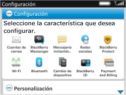 Activa el equipo - BlackBerry Curve 9320 - Passo 12