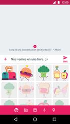 Envía fotos, videos y audio por mensaje de texto - Motorola Moto G5 - Passo 8