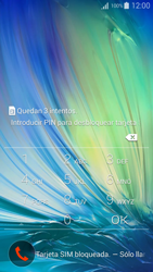 Activa el equipo - Samsung Galaxy A5 - A500M - Passo 3