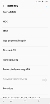 Configura el Internet - Samsung A7 2018 - Passo 15