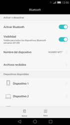Conecta con otro dispositivo Bluetooth - Huawei Ascend Mate 7 - Passo 6