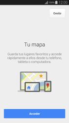 Uso de la navegación GPS - Samsung Galaxy Alpha - G850 - Passo 5