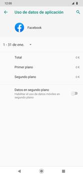 Verificar el uso de datos por apps - Motorola Moto G8 Play (Single SIM) - Passo 8