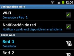Configura el WiFi - Samsung Galaxy Y Pro GT - B5510 - Passo 9
