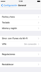 Restaura la configuración de fábrica - Apple iPhone SE - Passo 4